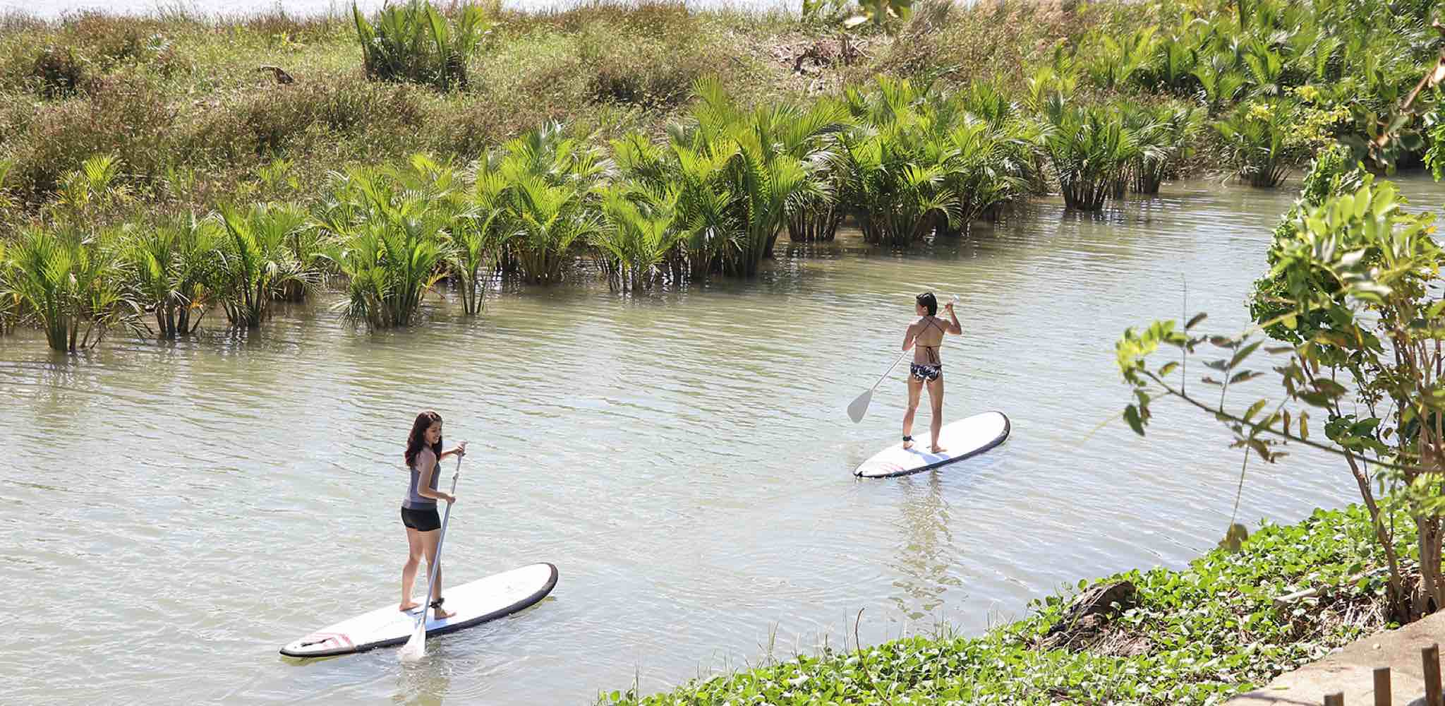 Baler - Going on a Paddle Board River Adventure