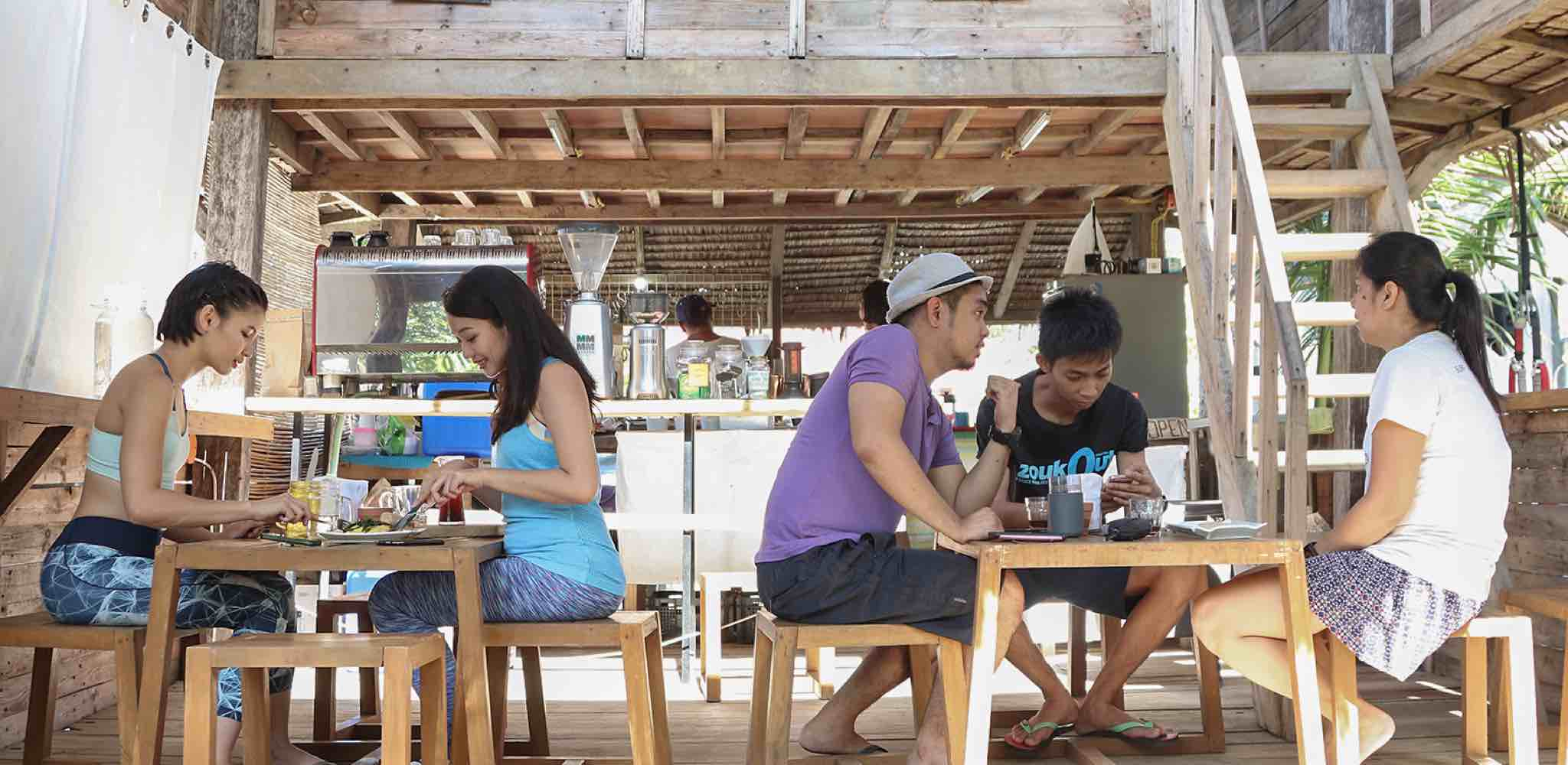 Baler - Dining at Press Start Cafe