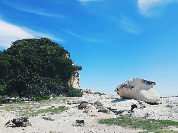 Kapurpurawan Rock Formation, Ilocos Norte