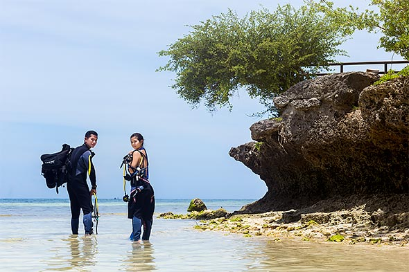 Bohol is truly a paradise for scuba divers