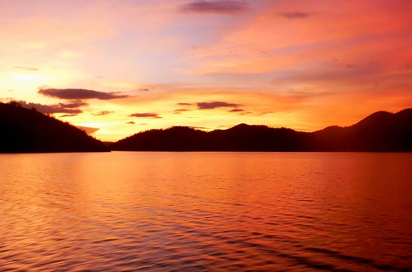 Coron Islands' Sunset