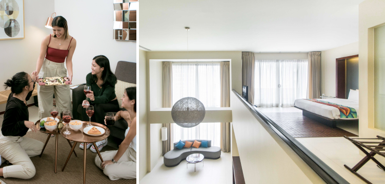Photos (L-R): The Cirque Serviced Residences, The Picasso Boutique Serviced Residences