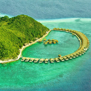 Huma Island Resort and Spa - Bask in Mesmerizing Huma Island: Water Villa Stay for 2