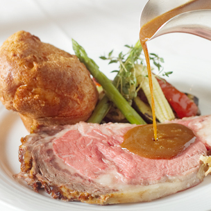 InterContinental Manila - 4-Course Meal for 2: Prime Rib, Plus Soup, Salad & More