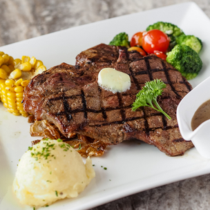 Highlands Prime Steakhouse  - Weekday Treat: P1000 Worth of Tasty, Feel-Good Fare