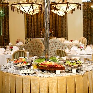 champagne room executive lunch cover