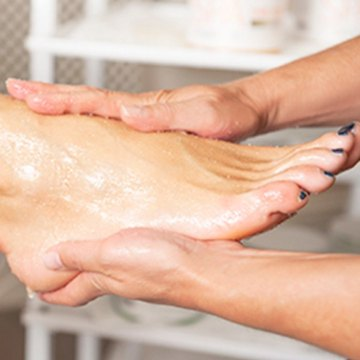 foot scrub the list
