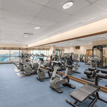 the linden suites gym cover 2