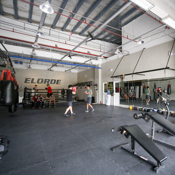 Elorde Boxing Gym Boxing cover Copy
